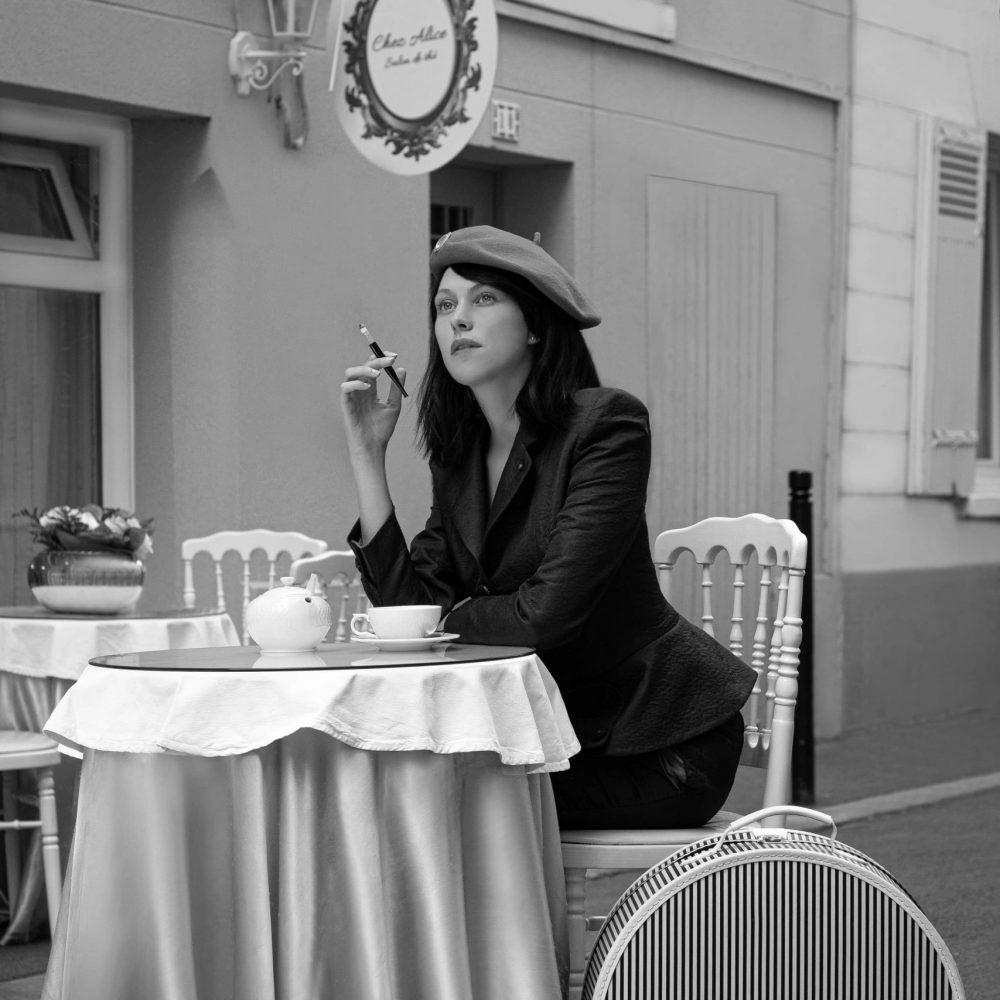 Collection Parisienne rétro femme BURGANDI PARIS
